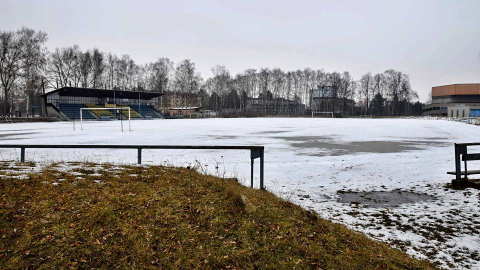 Sportovní areál začal vznikat v 50. letech minulého století