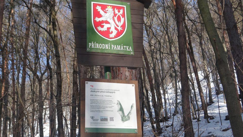 Loupežnická jeskyně na Zámeckém vrchu v Olešnici