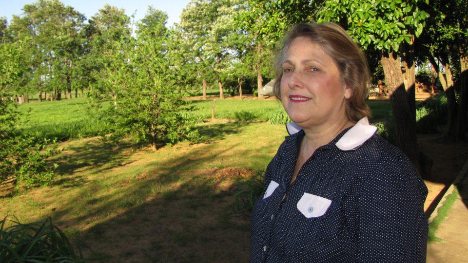 Vnučka Jana Antonína Bati, paní Dolores Ljiljana Arambasić Baťová v roce 2010