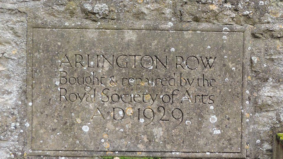 Arlington Row je pod britskou památkovou ochranou