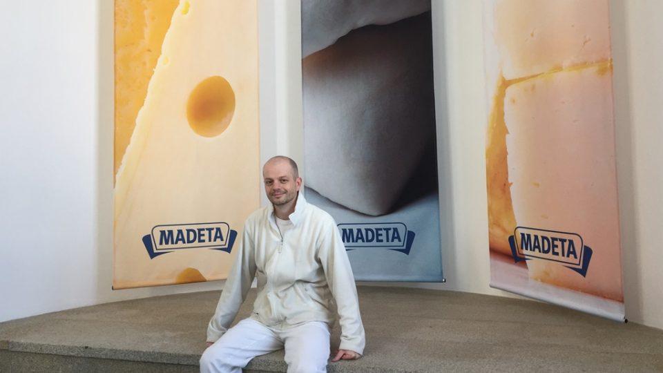 Ředitel závodu Madeta v Plané nad Lužnicí David Fajfr