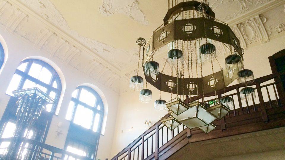 Hernychova vila v Ústí nad Orlicí je secesním skvostem, sídlí v ní Městké muzeum