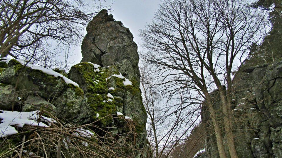 Možná zkamenělý pastýř