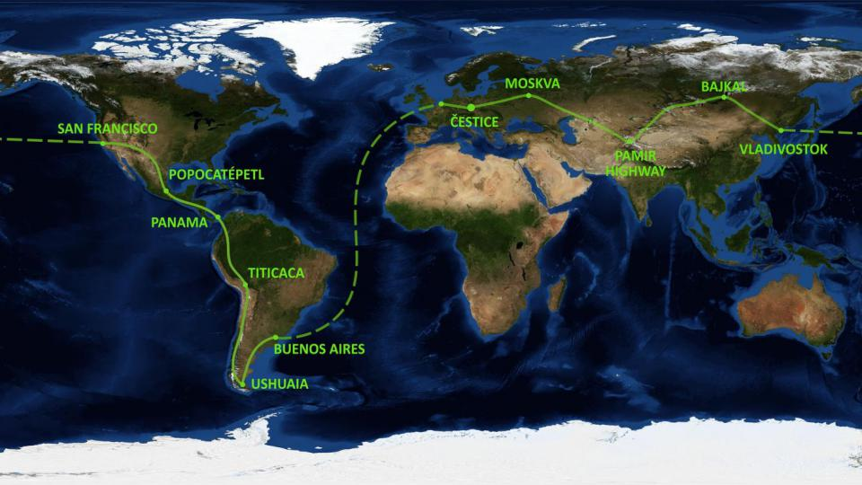 Žigulem z Čestic až na konec světa. 50 000 kilometrů dlouhé dobrodružství 41 let starým žihadlem