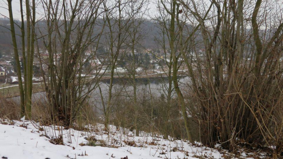 Výhled od hradiště