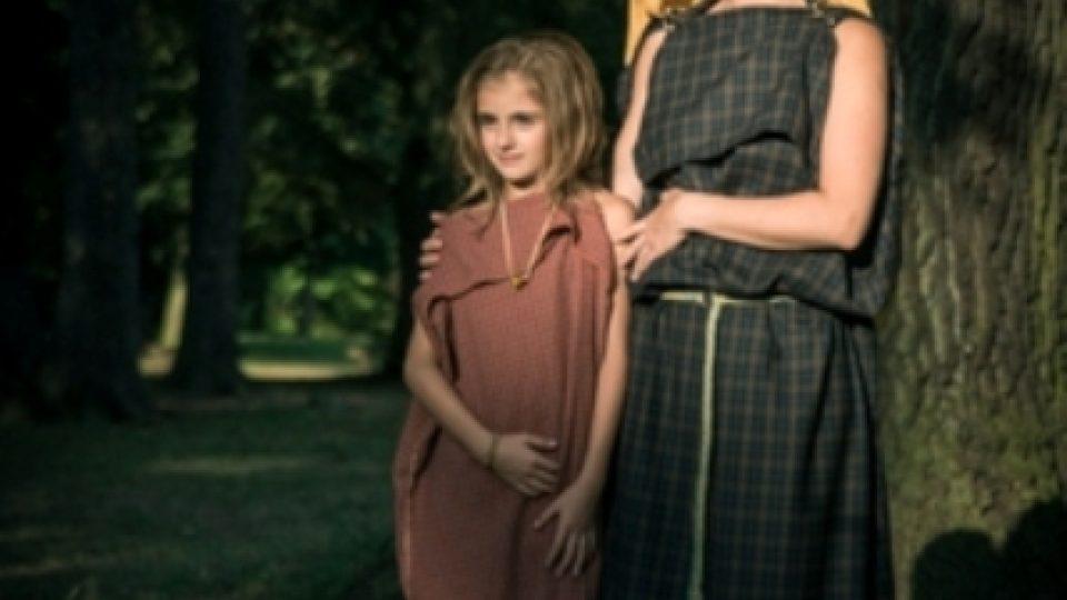 Keltská žena s dítětem