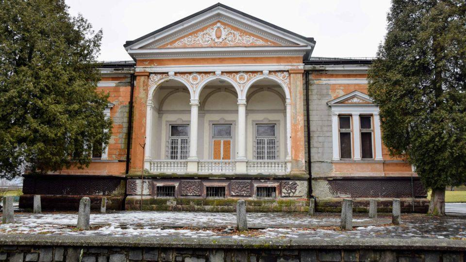 Ringhofferova vila je už léta zavřená