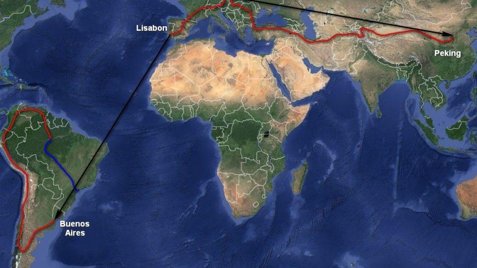 S kolem kolem světa. Expedice Petra Mazala