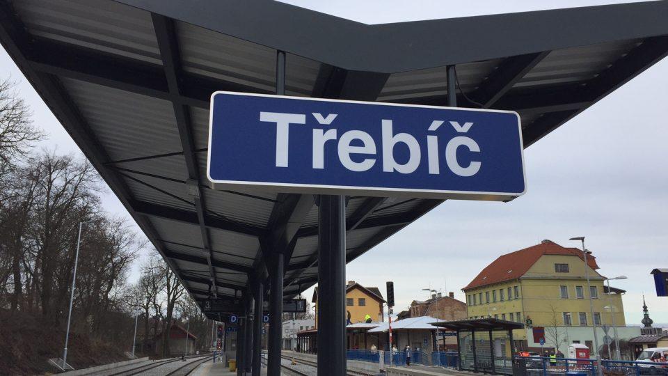 Nádraží v Třebíči, Vysočina