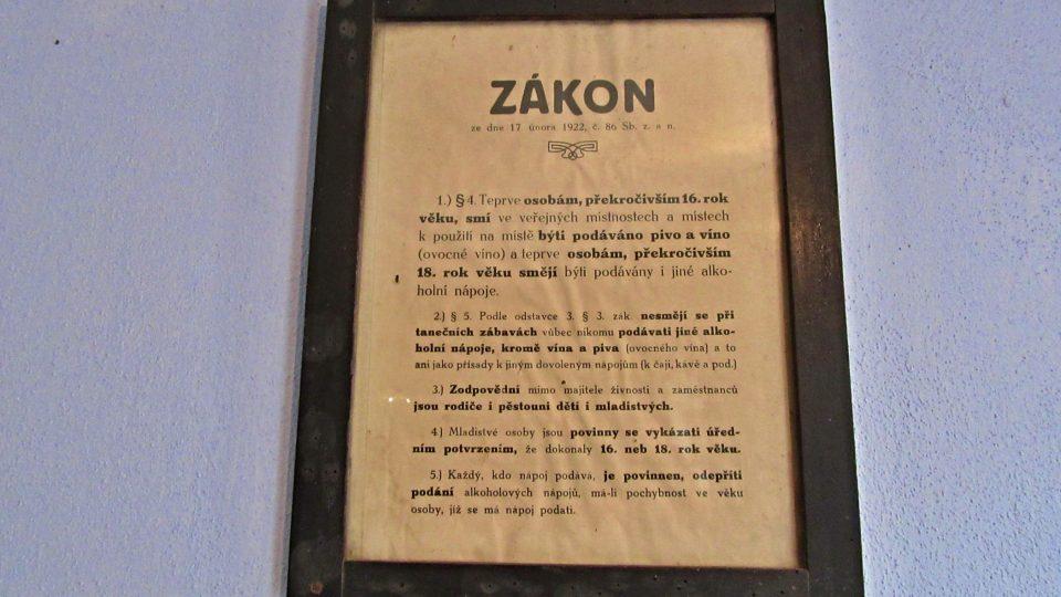 Zákon z roku 1922