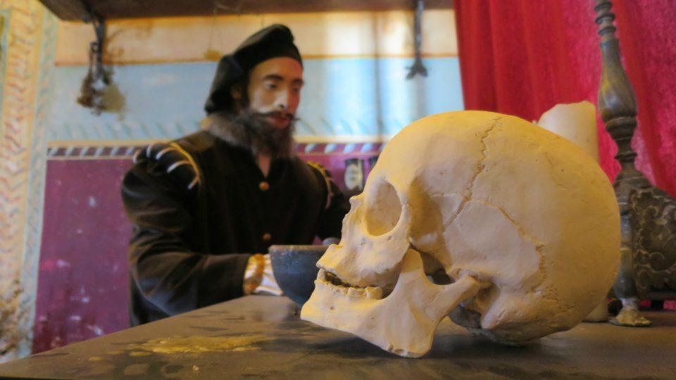 Na zámku v Moravské Třebové můžete navštívit alchymistickou laboratoř mistra Bonaciny