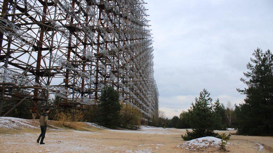 """Černobyl 2 - radar Duga - v třicetikilometrové zakázané zóně """"uvízla"""" i megalomanská konstrukce radaru určeného pro sledování imperialistického západu"""