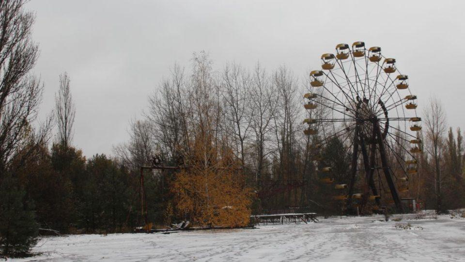 Ruské kolo je pravděpodobně nejznámějším objektem v Pripjati