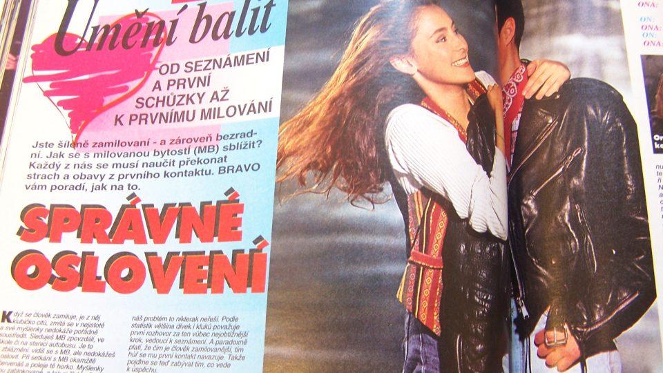 Z časopisu Bravo