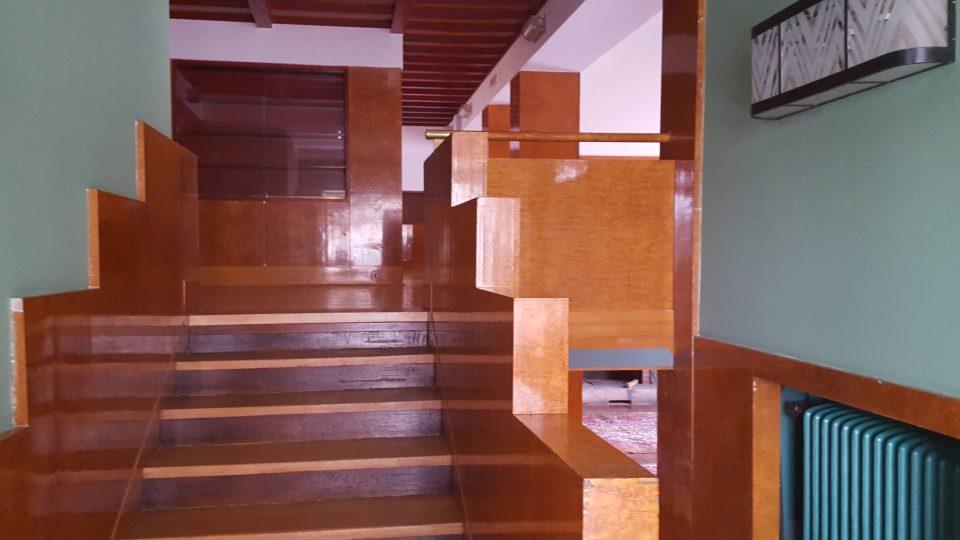 Interiéry Semlerovy rezidence v Plzni