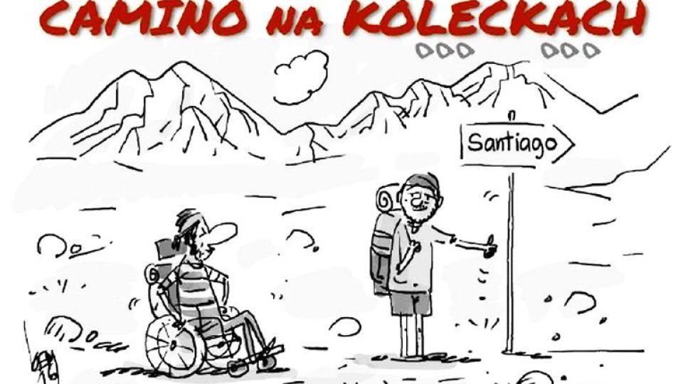 Camino na kolečkách 2017 aneb Honza Dušek s roztroušenou sklerózou na Svatojakubské pouti