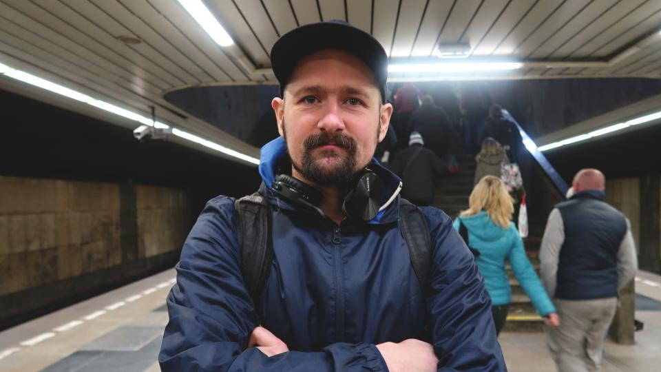 Jiří Franta a stanice Budějovická