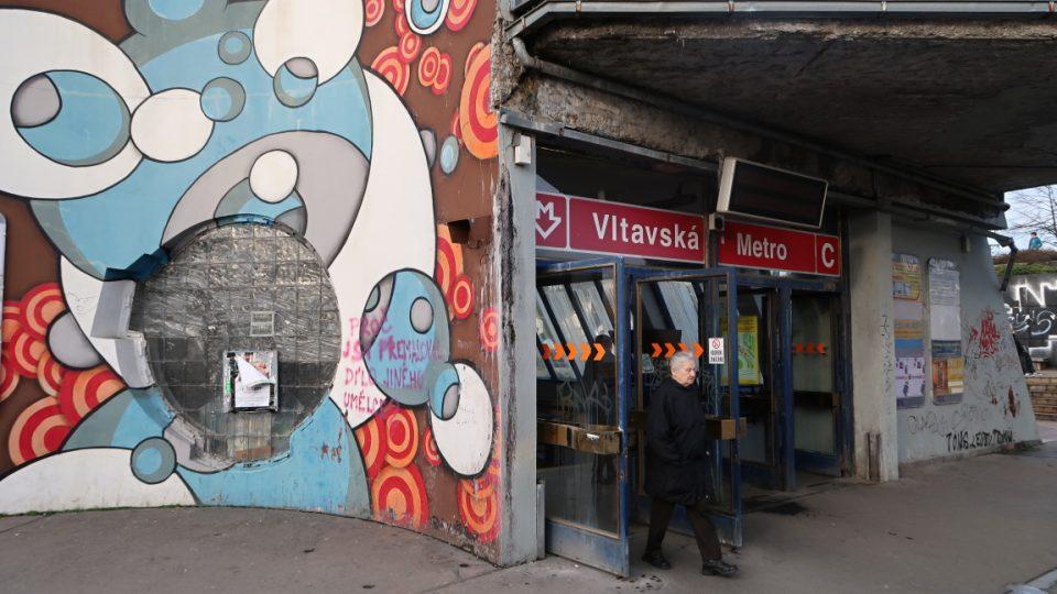 Stanice metra Vltavská