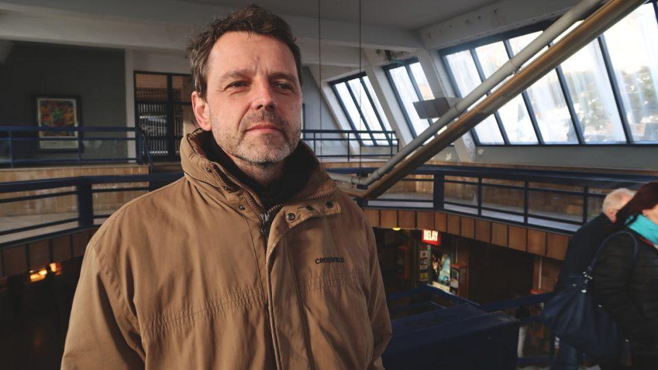 Petr Zeman a stanice Vltavská