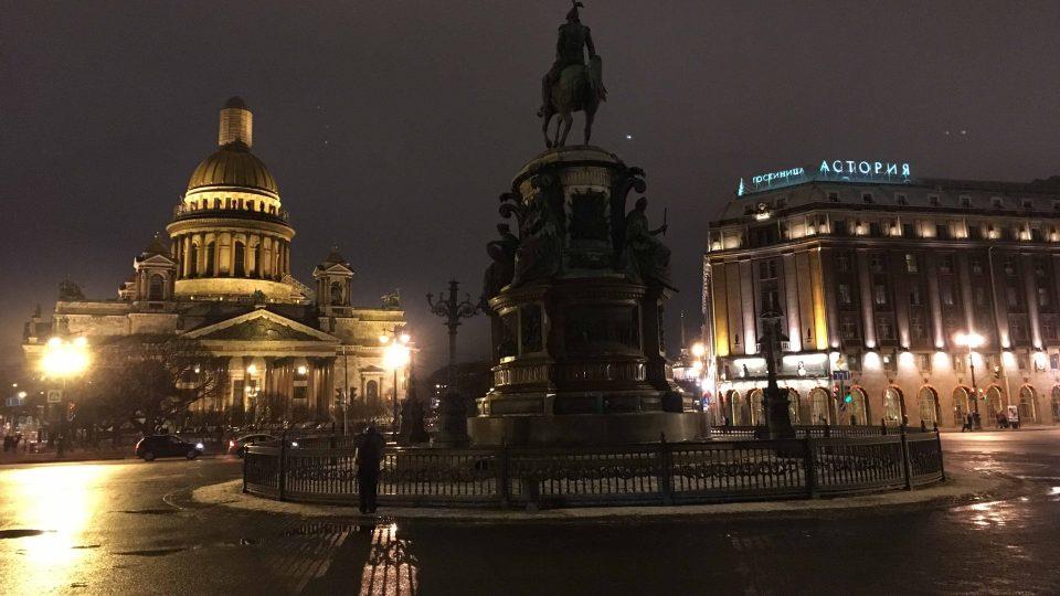 Chrám sv. Izáka v Petrohradu