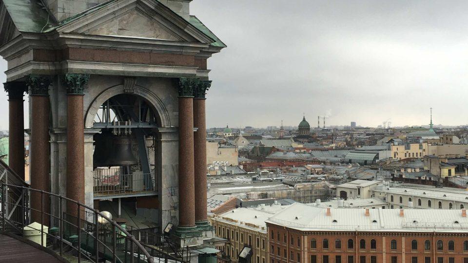 Ochoz chrámu sv. Izáka v Petrohradu