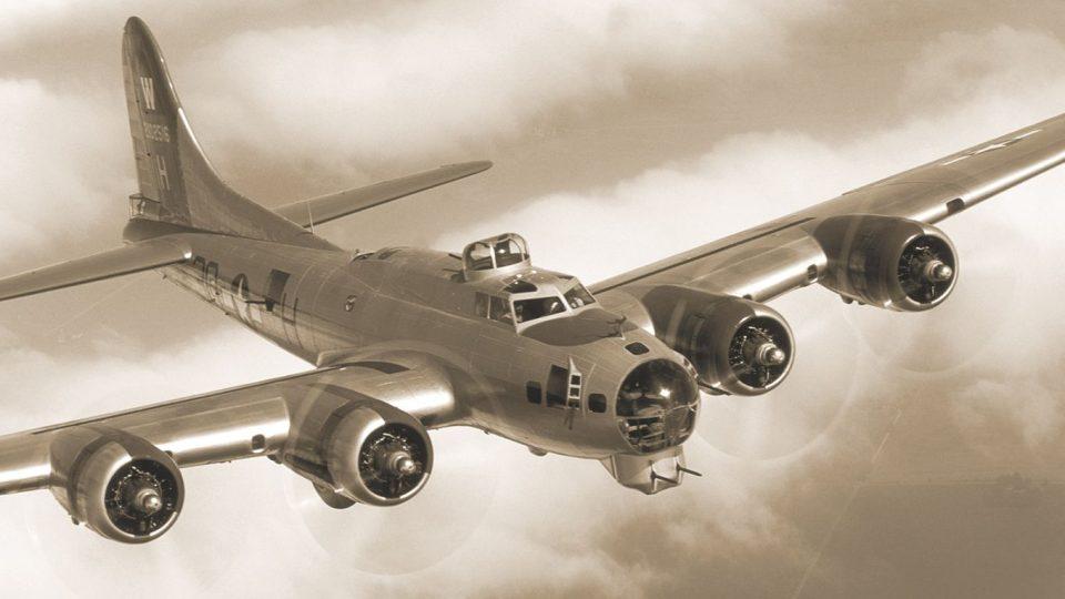 S nákladem pum letěli na Berlín a zřítili se ve východních Čechách - B17-flying-fortress