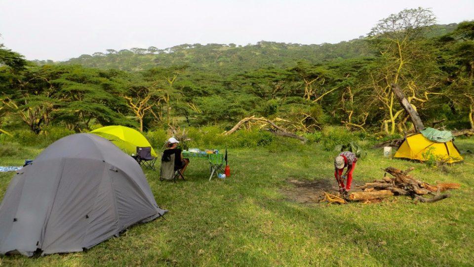 Dva roky prázdnin v Tanzanii - Oldoinyo Lengai tůra