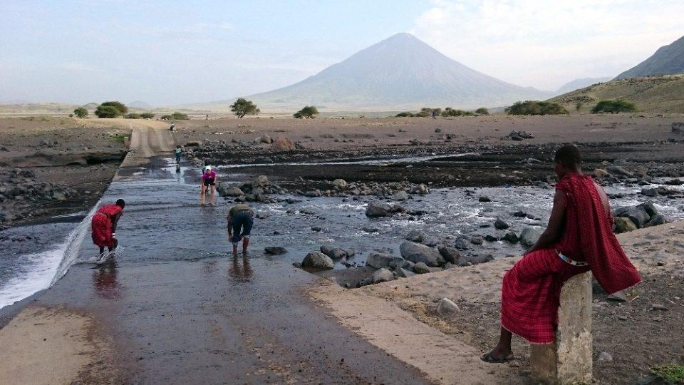 Dva roky prázdnin v Tanzanii - Oldoinyo Lengai