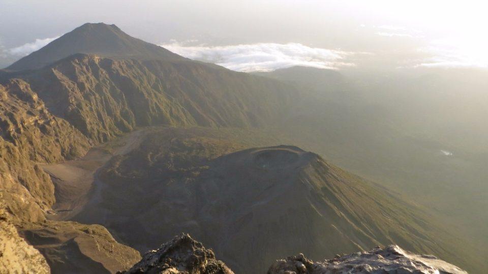 Dva roky prázdnin v Tanzanii - pohled z Mt Meru