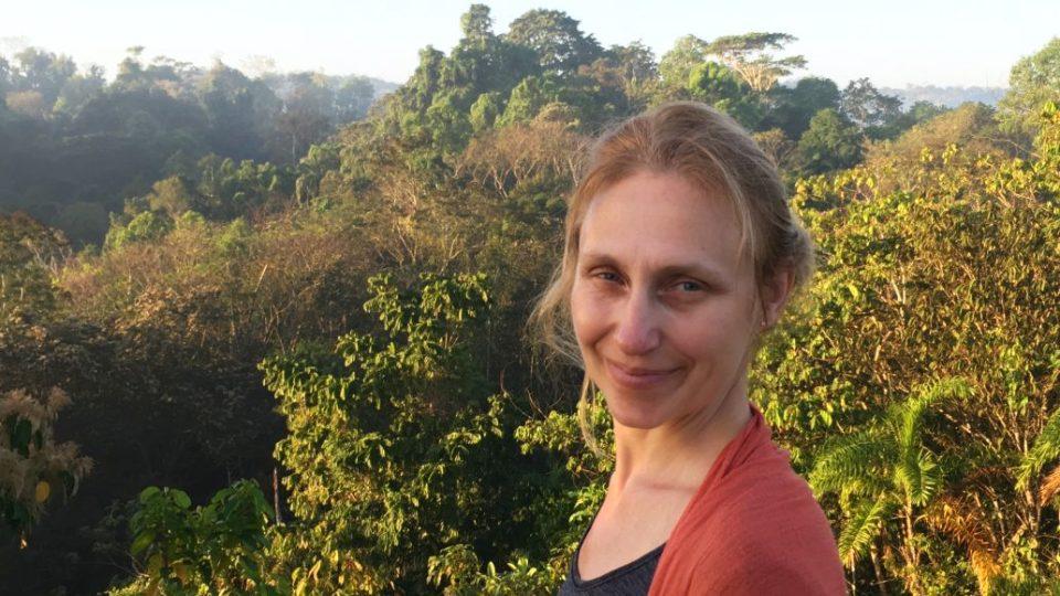 Ilustrátorka, výtvarnice a autorka zajímavých stolních her nejen pro děti - Lucie Ernestová, v Kostarice