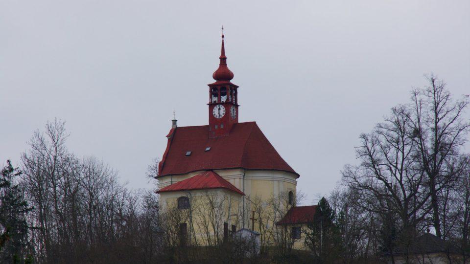 Poutní kostel Andělů strážných ve Stražisku