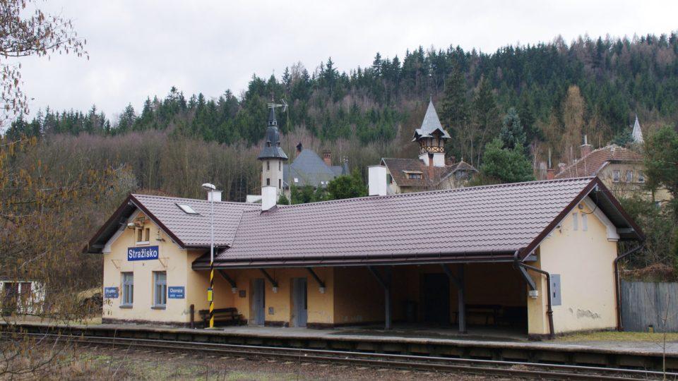 Stražisko se stalo výletní lokací i díky železnici z Prostějova do České Třebové