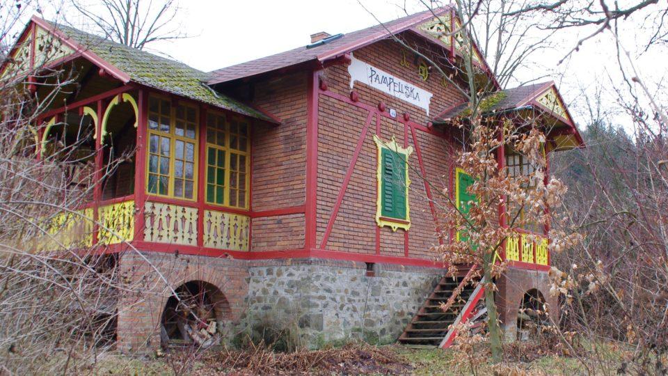 Vilka pampeliška bývala prázdninovým útočištěm herce  Ladislava Peška