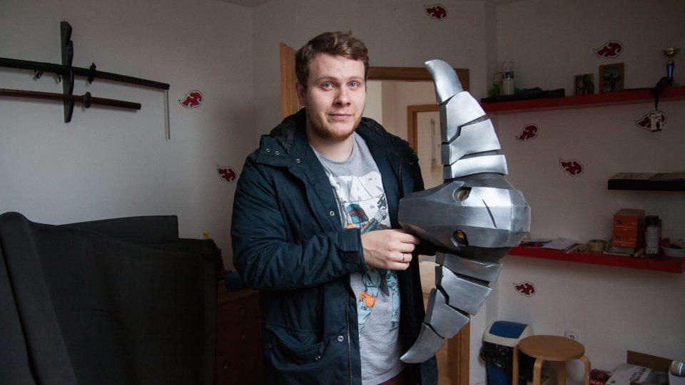 Cosplayer Roman Pivec, který vystupuje pod přezdívkou TanakhT, nejčastější ztvárňuje postavy z videoher