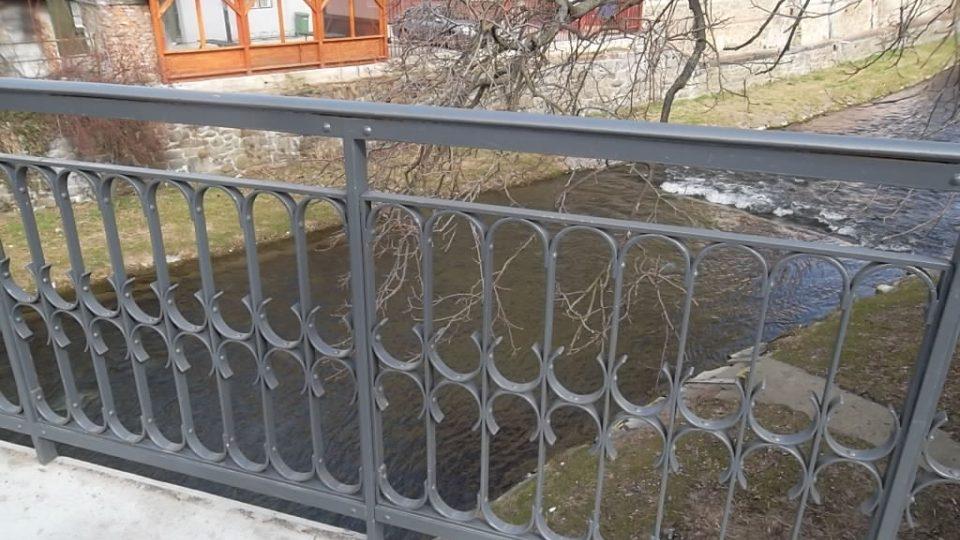 Nýtovaný most z roku 1900 v Krnově, kulturní památka
