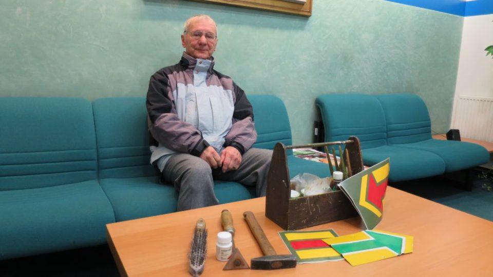Ing. Karel Raich a Klub českých turistů - cykloznačení