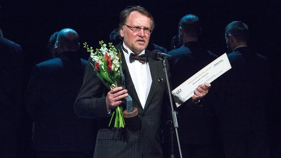 Operní pěvec Alexandr Beň získal Jihočeskou Thálii za roli v inscenaci Příhody lišky Bystroušky
