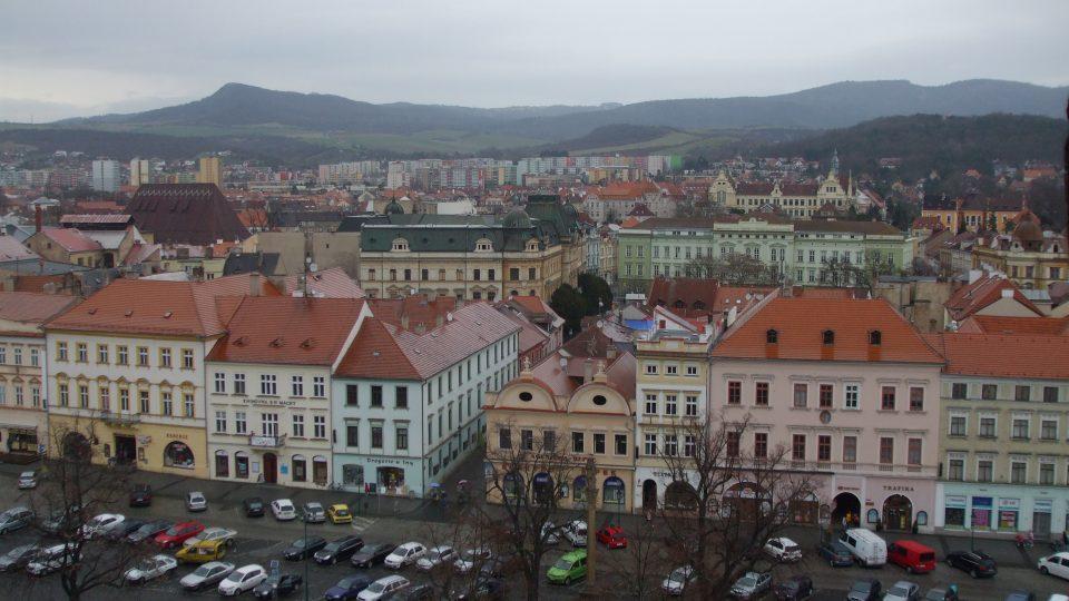 Věž Kalich - horní strana náměstí