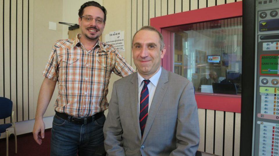 doc. PhDr. MgA. František Vaníček, Ph.D. pozval Jakuba Schmidta na 25. ročník Pedagogických dnů