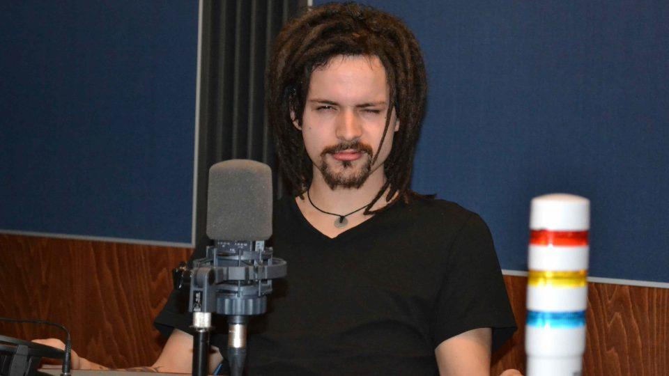 Tomáš, frontman kapely