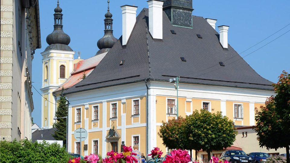 Bysterská barokní radnice