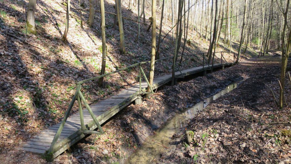 Naučná stezka v Údolí Sejfů je dlouhá 3,9 km
