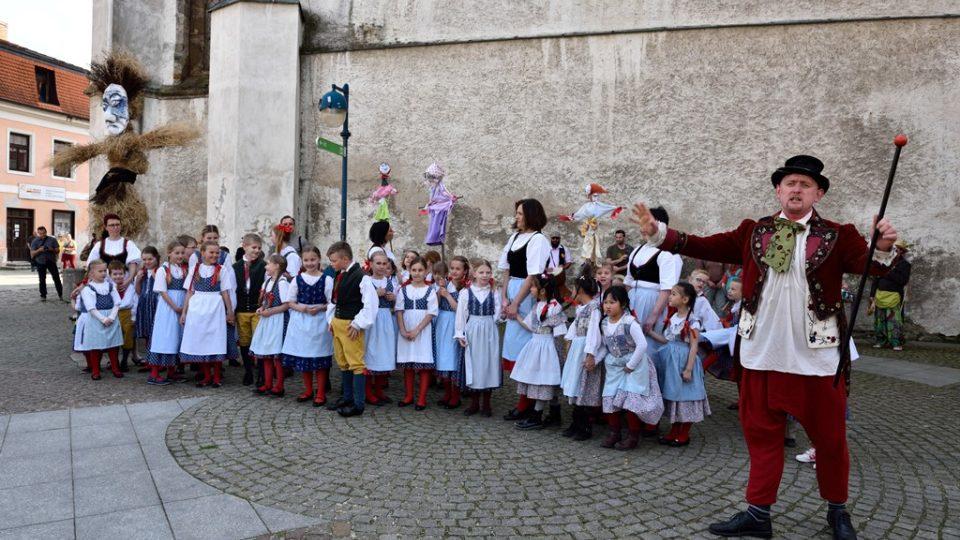 Vynášení Morany v Českých Budějovicích