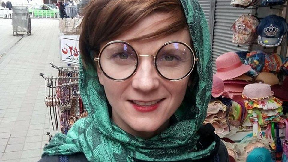 Anita Krausová v Íránu