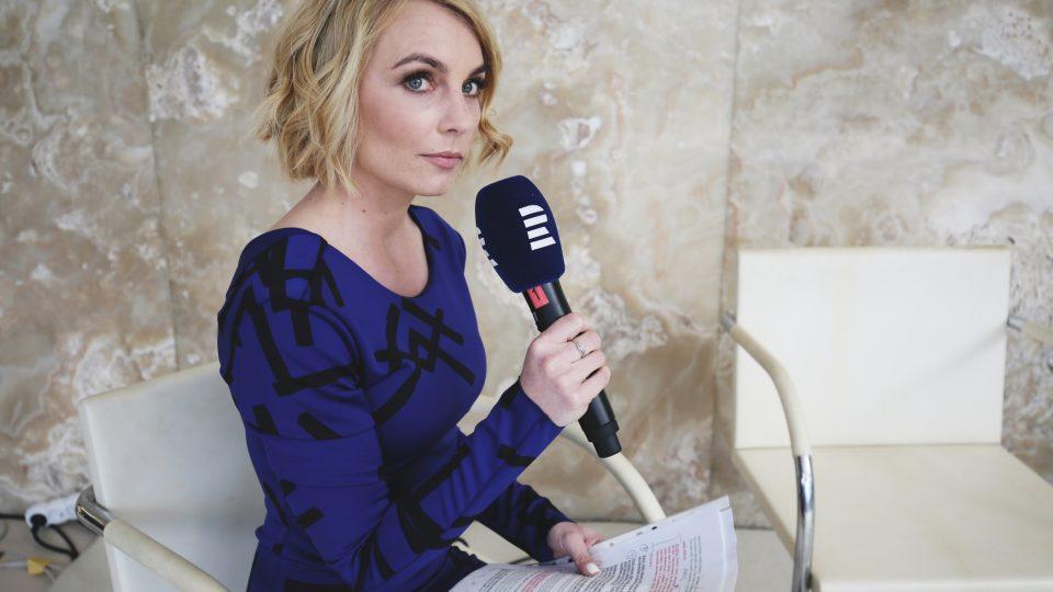 Ivana Veselková na Audioportu ve vile Tugendhat