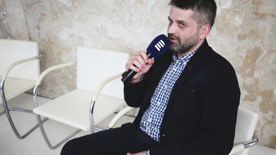 Fedor Blaščák na Audioportu ve vile Tugendhat