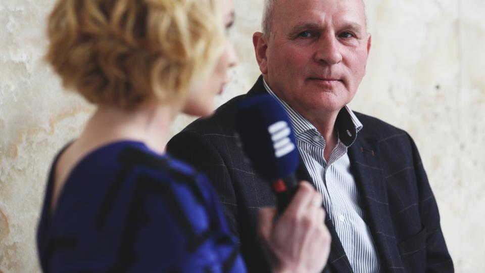 František Mikloško na Audioportu ve vile Tugendhat