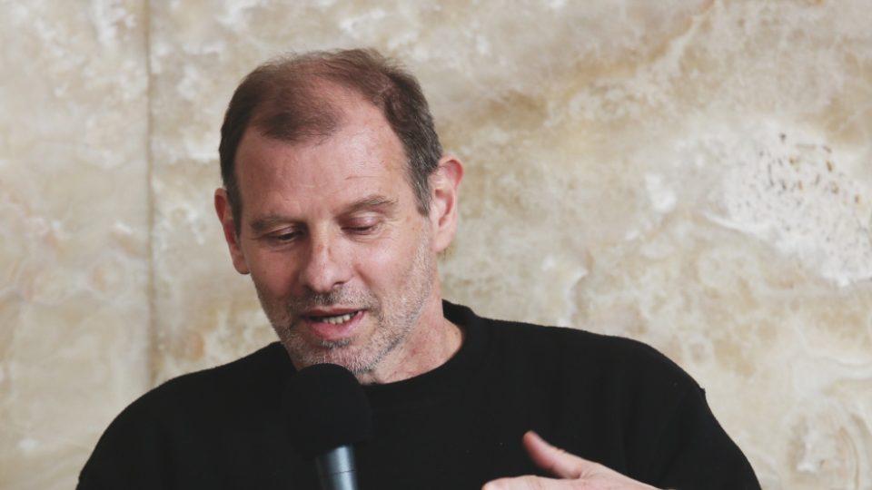 Martin M. Šimečko na Audioportu ve vile Tugendhat