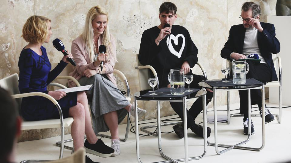 Ivana Veselková, Mirka Ábelová, NobodyListen a Daniel Baláž na Audioportu ve vile Tugendhat