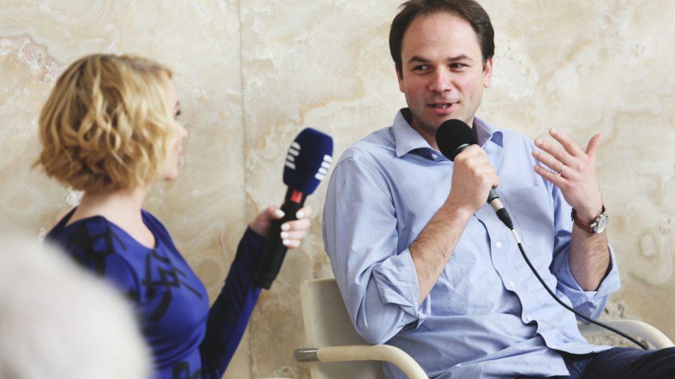 Lukáš Fila na Audioportu ve vile Tugendhat